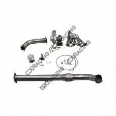 GT35 Top Mount Turbo Downpipe kit For 240SX S13 S14 SR20DET