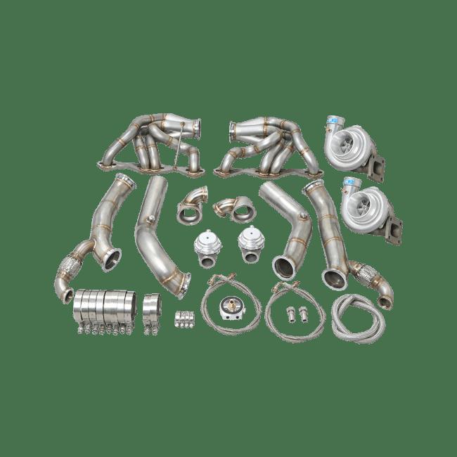 Twin Turbo Intercooler Radiator Kit For 60-66 Chevy C10