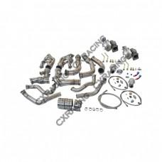 Twin Turbo Kit For 63-67 Chevrolet Chevelle Nova SBC V8