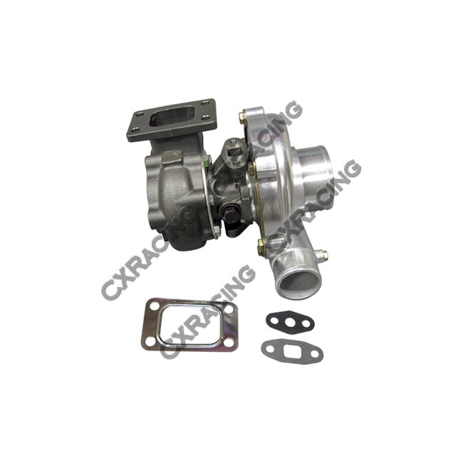 T3 T04E .60 .63AR Ceramic Ball Bearing Turbo Charger 5 Bolts