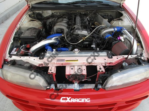 91 240sx S13 Ka24de Engine Wiring Front Mount Turbo Intercooler Aluminum Piping Kit For 91