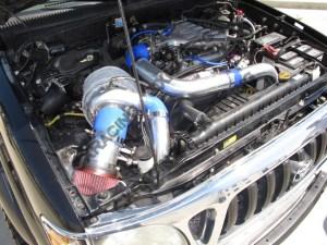 Turbo Kit Manifold Downpipe for Toyota 9504 Taa 5VZFE 5VZFE 5VZ