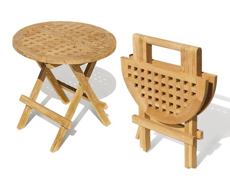 small folding picnic table round chessboard slats