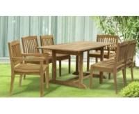 6 Seat Garden Table & Chairs | 6 Seat Patio Set | Garden ...