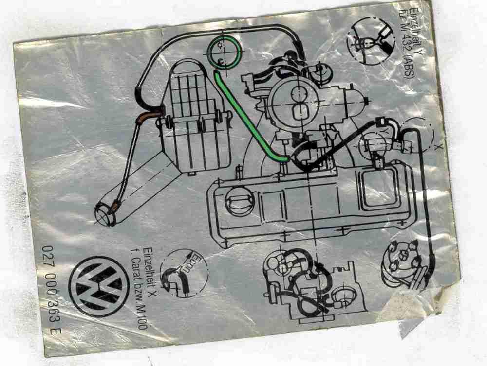medium resolution of q have a south african model golf 3 1 8 need a carburetor vacuum diagram 1996 vw golf csx