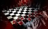 Hier das fertig gerenderte 3D Schachbrett