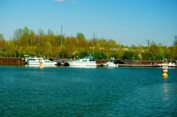 Hafenansicht mit Booten