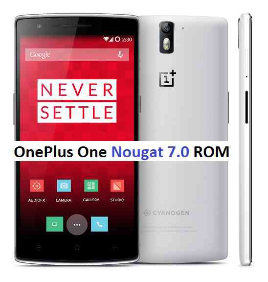 OnePlus One gets CM14 Android Nougat 7.0 ROM from Developers Community