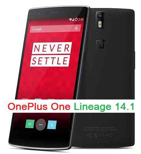 OnePlus One Lineage 14.1, Nougat 7.1 ROM