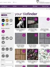 Ted Baker Tile Images by Cyan Studios on British Ceramic Tiles website