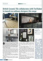 Ted Baker Tile Images by Cyan Studios in trade Publication