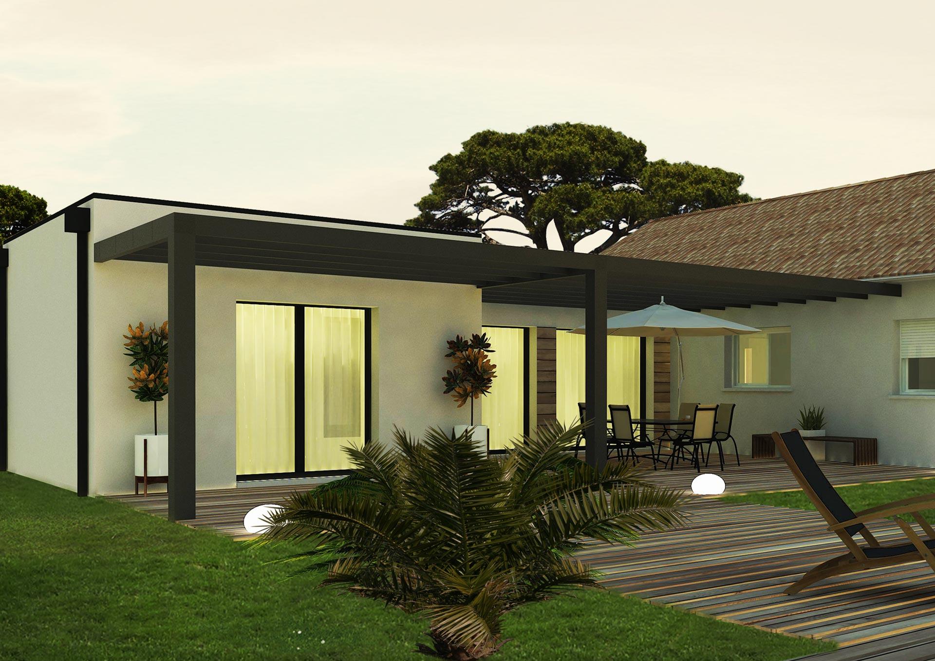 Maison Avec Pergola Cheap Location De Vacances Villa