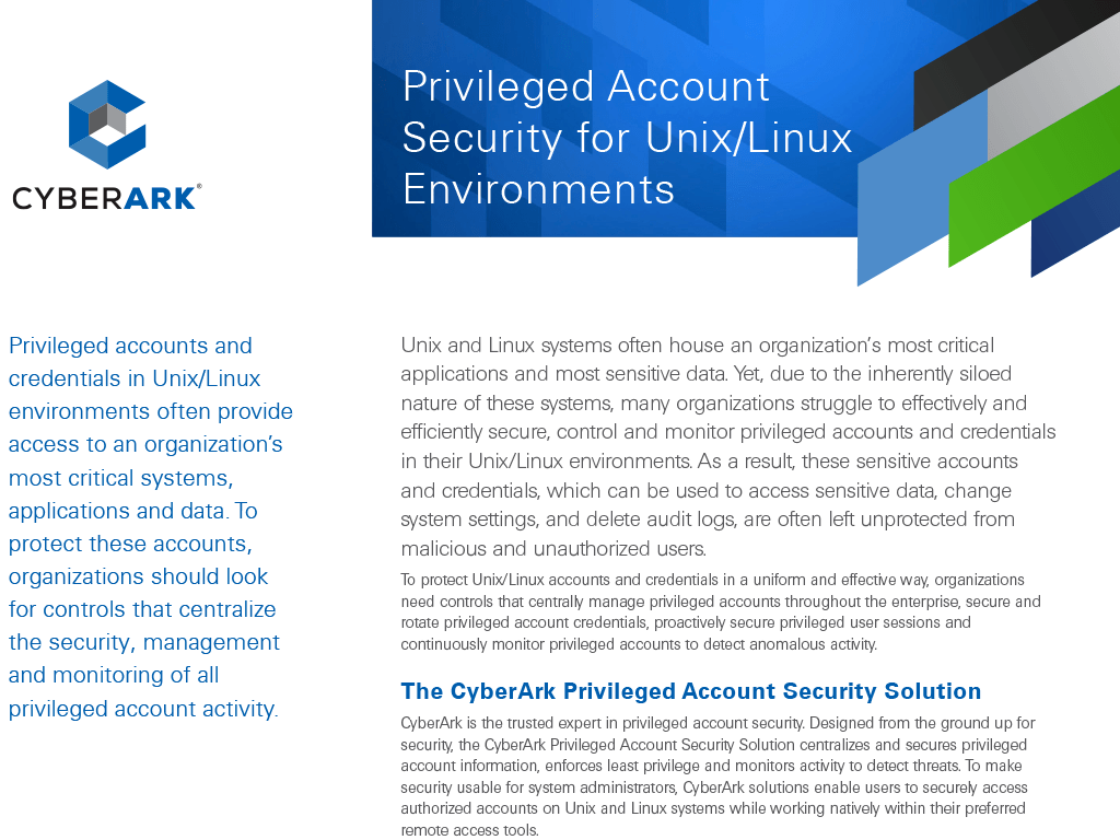 Unix Security Management