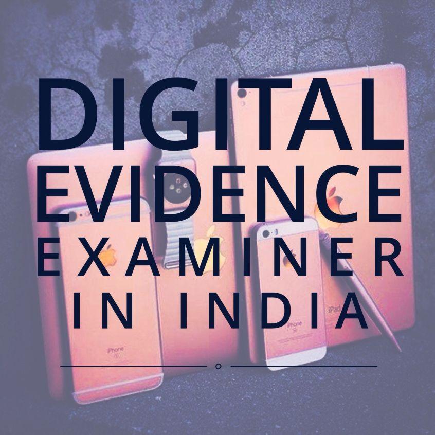 India, DigitalEvidence, Cybercrime, investigation