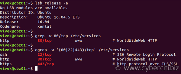 Linux find out which port is open using the command line ...