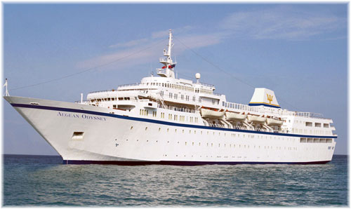 Voyages to Antiquity's 408-berth Aegean Odyssey