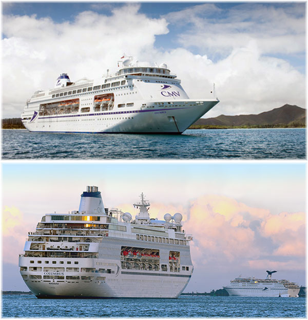 Cruise & Maritime Voyages' Columbus (Courtesy CMV)