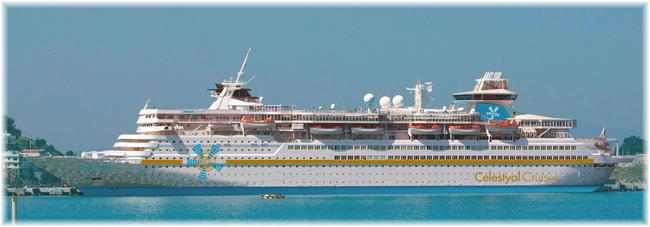 The Celestyal Olympia (Courtesy of Celestyal Cruises)
