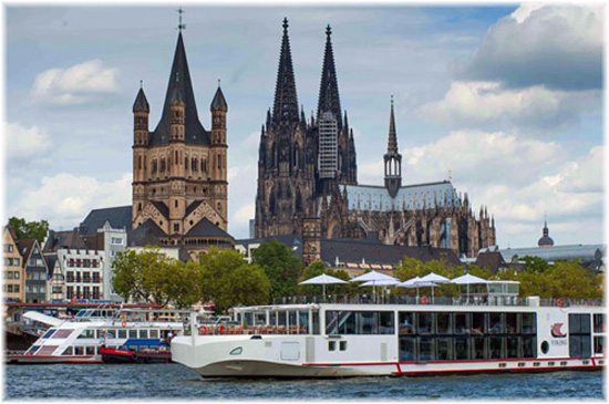 Viking Longship Freya in Cologne - Photo Viking River Cruises