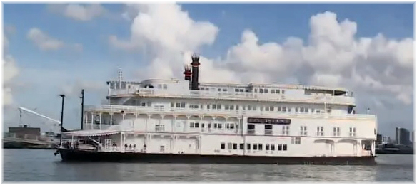 The 150-passenger Louisiane (Courtesy French America Line)