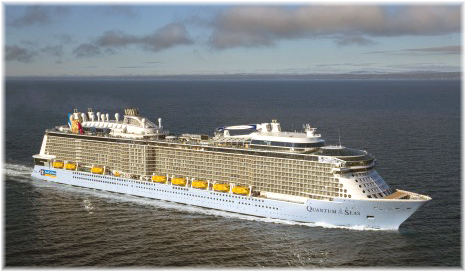 Quantum of the Seas (Photo credit: Meyer Werft)