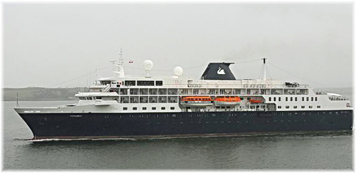 Swan Hellenic's Minerva (Photo courtesy Damien Mc Carthy)