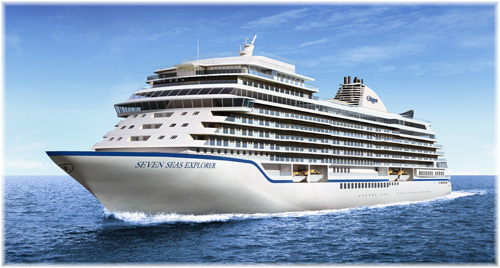 Seven Seas Explorer (Rendering courtesy of Regent Seven Seas Cruises)