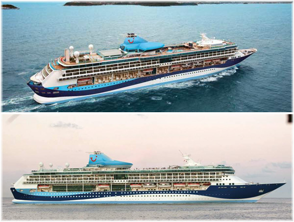 The TUI Discovery (Courtesy Thomson Cruises)