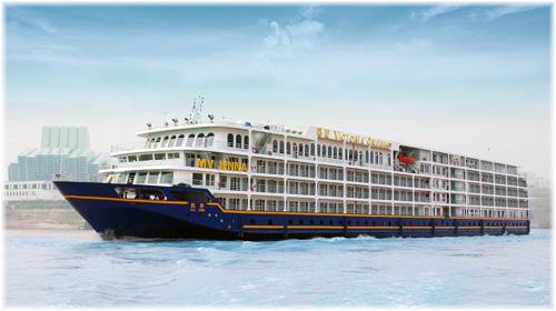 Victoria Cruises' 10,680-ton 439-foot Victoria Jenna