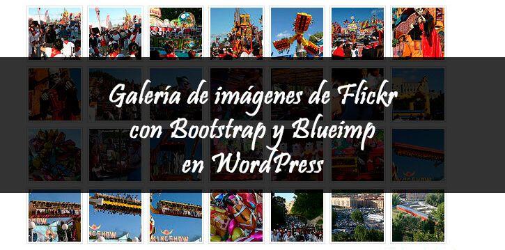 Galería Flickr en WordPress