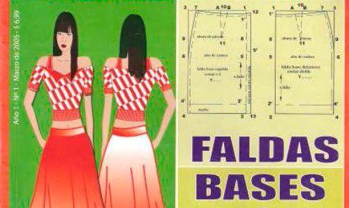 patronaje faldas base