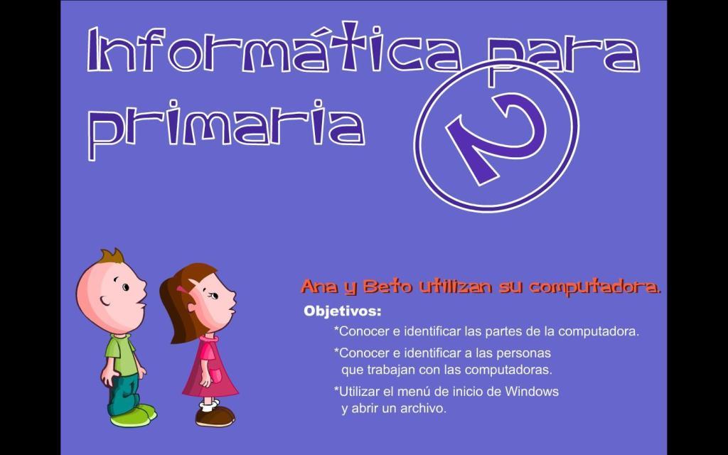 Informática para Primaria 2