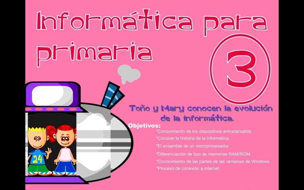 Informática para Primaria 3