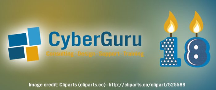 CyberGuru celebrates 18th birthday