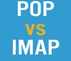What is the difference between POP and IMAP?