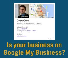 Is your business on Google My Business?