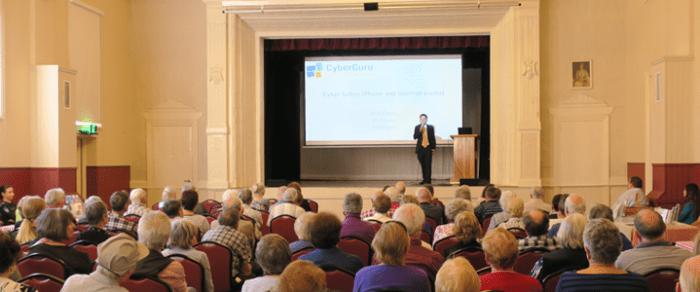 CyberGuru talks cyber safety at Seniors Safety Forum