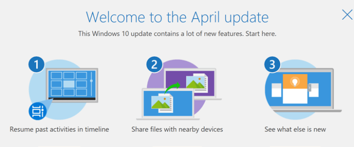 Windows 10 April 2018 Update released