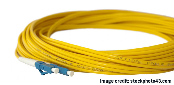 Image of optical fiber patch cords.