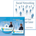 Networking For Results DVD and Social Networking Throughout Your Career book by April M. Williams