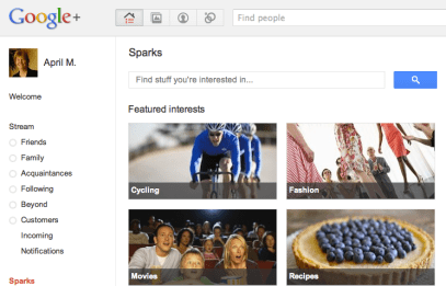 Google+ Social Networking Site from Google