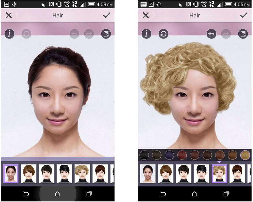 Be Fearless! Try Out A New Hairstyle With Our Virtual Hair Salon