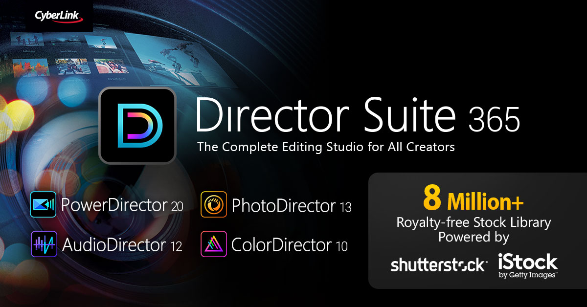 CyberLink Releases 2021 Versions of its Award-Winning PowerDirector and other Multimedia Editing Software