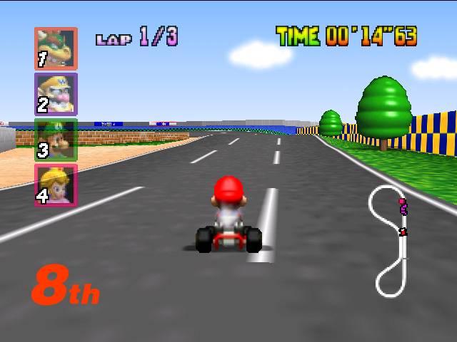 Mario Kart 64 - 4