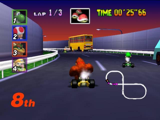 Mario Kart 64 -7