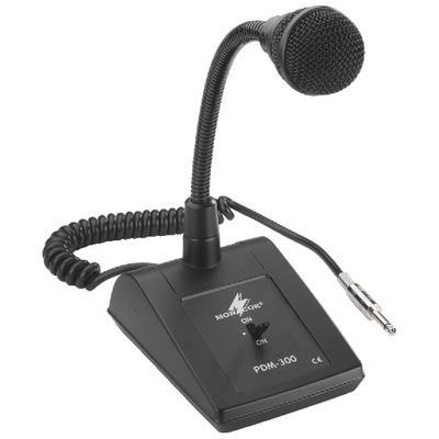 PDM 300 PA Desk Microphone With 63mm Jack