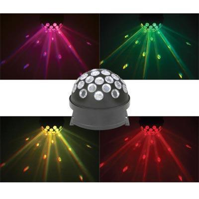 Rotating Fireball Party Light  QTX LED  Floor Or Ceiling Mount
