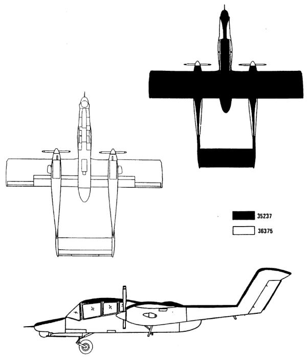 OV-10D USMC Low-Viz Camouflage Color Profile and Paint Guide