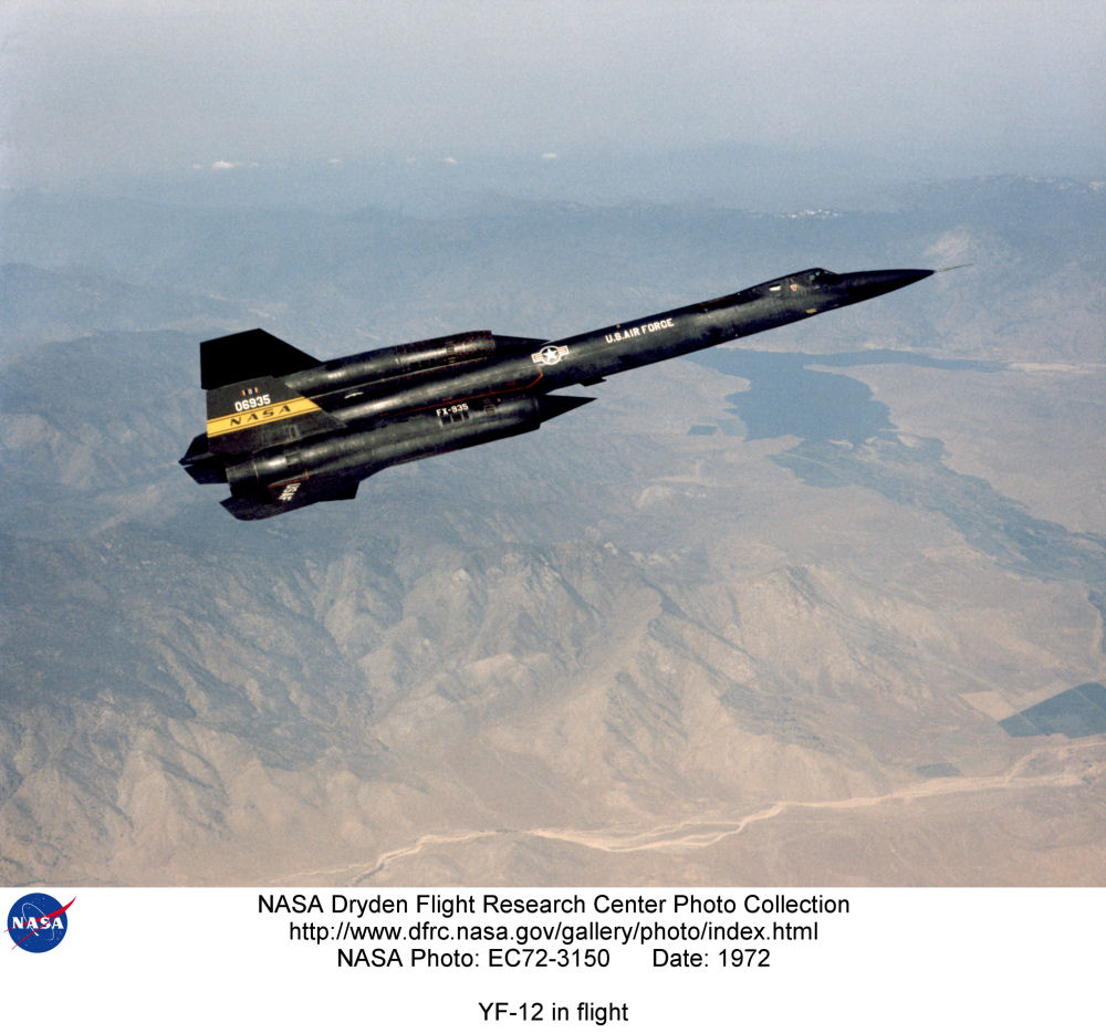 Lockheed YF12 Blackbird Photo Gallery