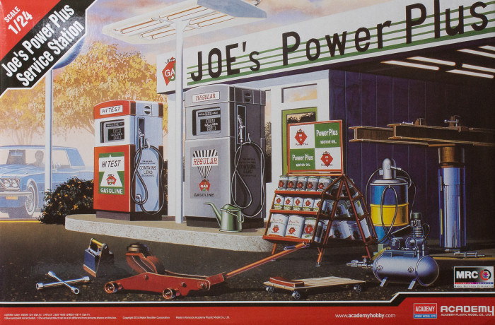 Academy 15122 124 Joes Power Plus Service Station Kit
